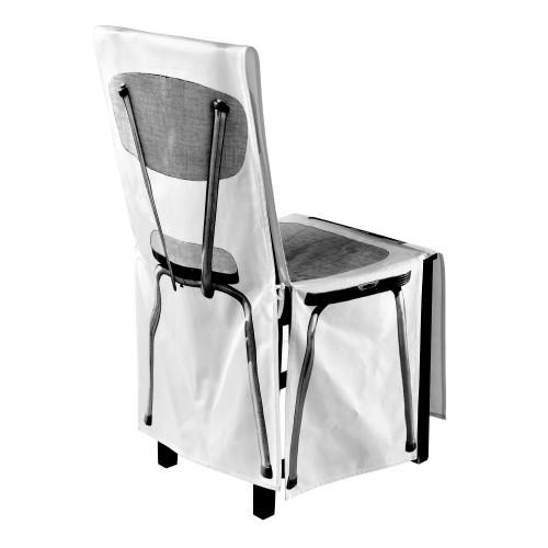 """Housse de chaise """"Formica noir & blanc"""""""