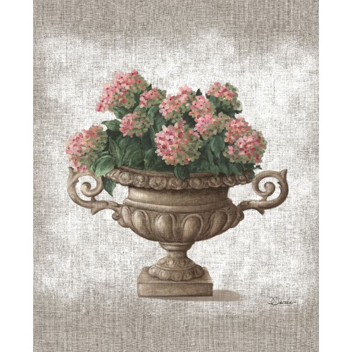 "Tenture murale ""L'Hortensia"""