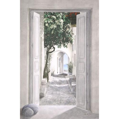 "Tenture murale ""Rue du Port"""