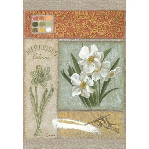 """Tenture murale """"Narcissus"""""""
