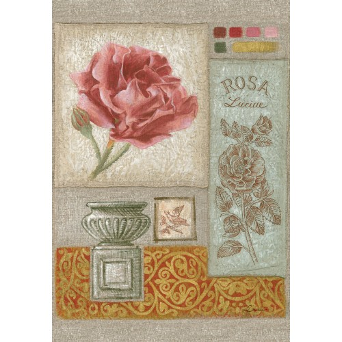 """Tenture murale """"Rosa Luciae"""""""