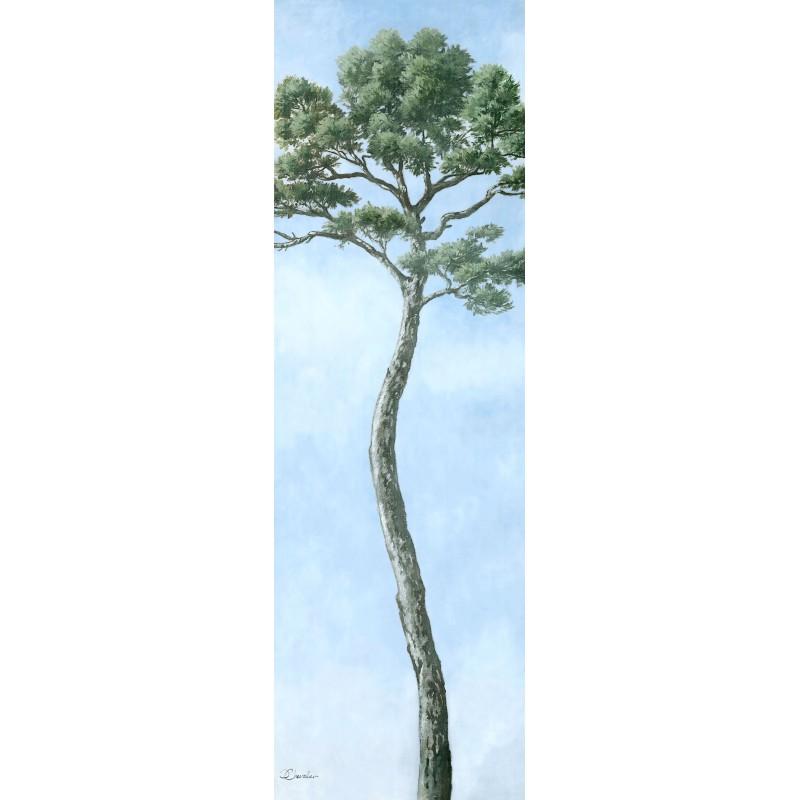 "Tenture murale ""petit pin"""