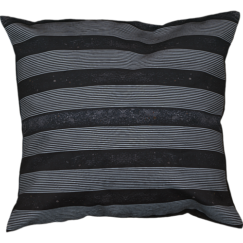 """Cushion cover and its """"Tabatière"""" pattern"""