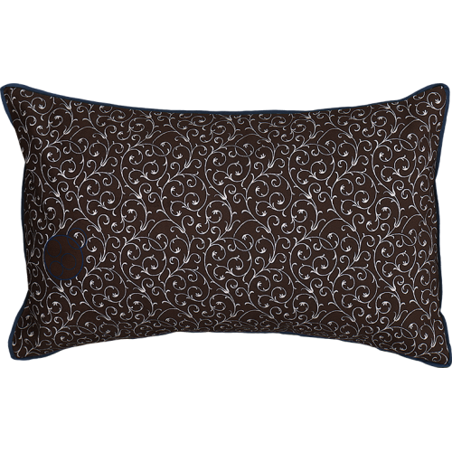 "Cushion cover and its ""Arabesques"" pattern"