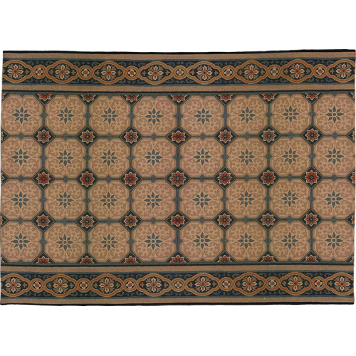 "Carpet and its ""Carrelage"" pattern"