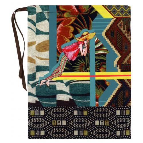 "Lingerie bag ""Voyage en Afrique"""