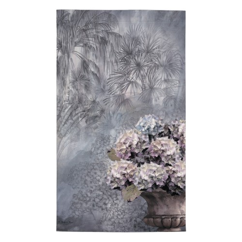 Wall hangings with a Hortensia pattern