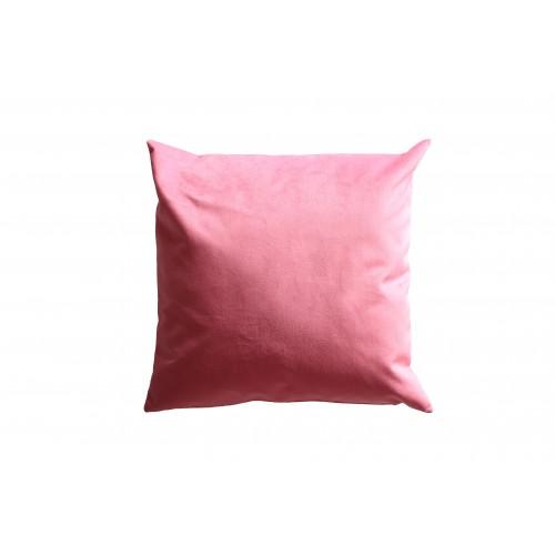 """HOUSSE DE COUSSIN """"Uni rose"""" 50x50 cm"""