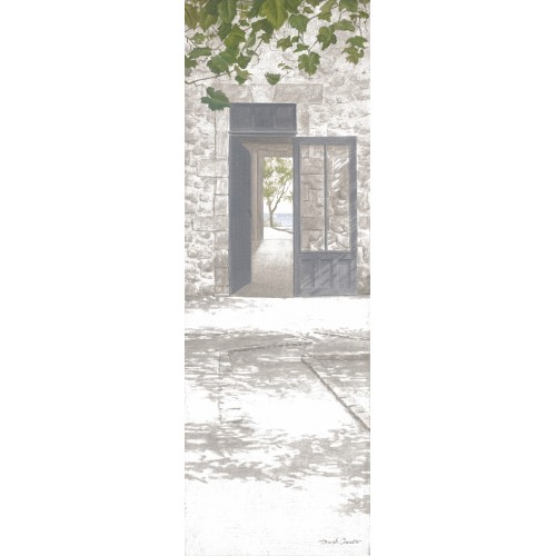 "Tenture murale ""Porte vitrée"""