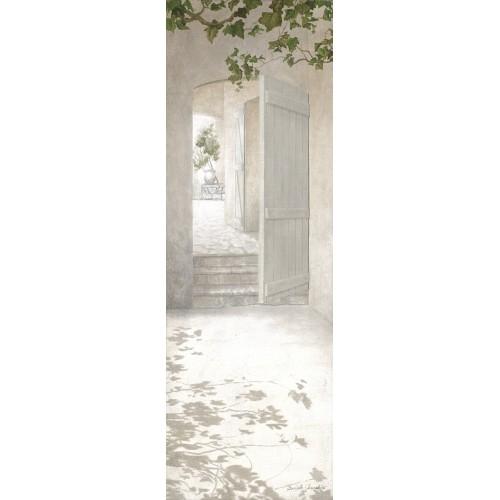 "Tenture murale ""Porte escaliers"""