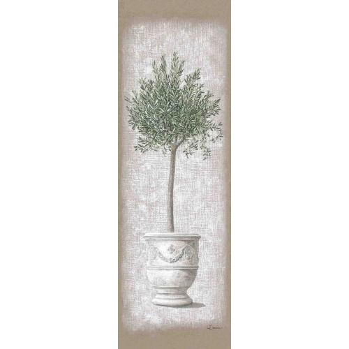 """Tenture murale """"Olivier en pot"""""""
