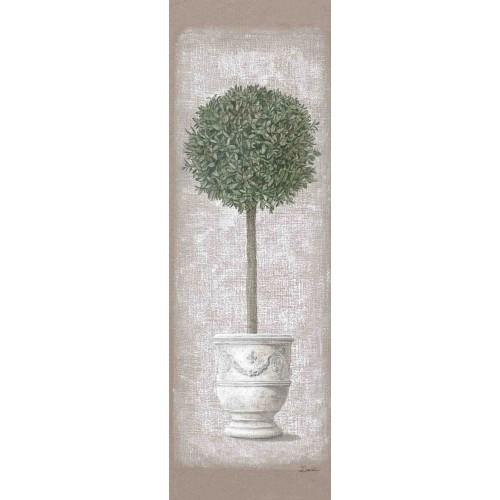 """Tenture murale """"Buis en pot"""""""