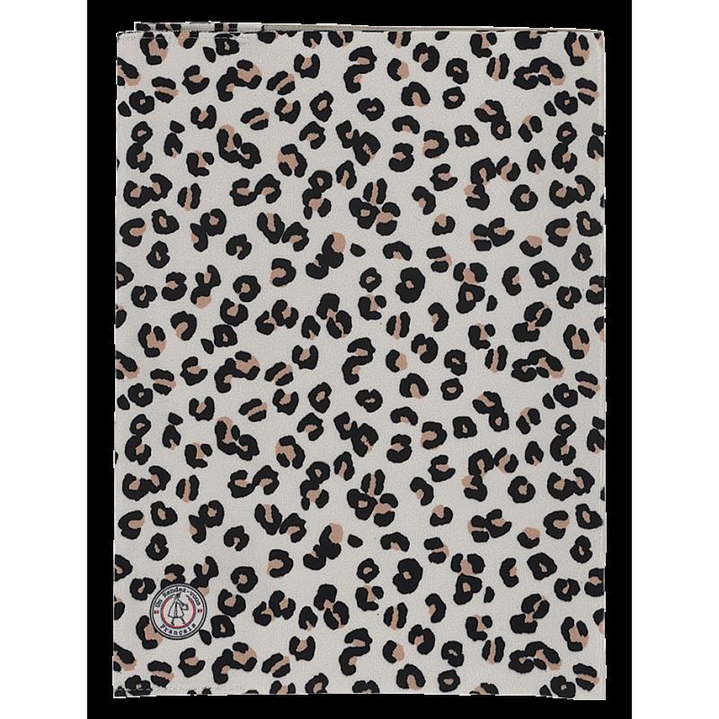 Protège cahier motif léopard face arrière